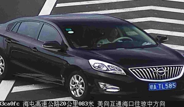 海南交警曝光一批环岛高速交通违法车辆